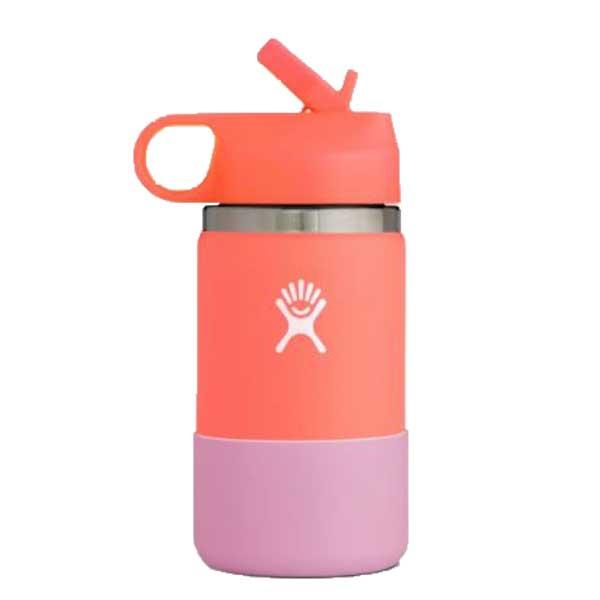Hydro Flask KIDS Wide Straw Lid Isolatie drinkbeker 354ml (12oz) - Hibiscus