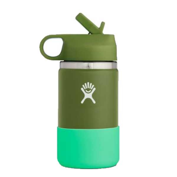 Hydro Flask KIDS Wide Straw Lid Isolatie drinkbeker 354ml (12oz) - Olive
