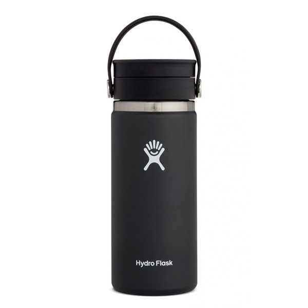 Hydro Flask Wide Flex Sip Lid Isolatie drinkbeker 473ml (16oz) - Zwart