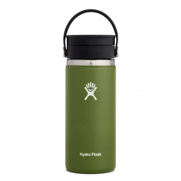 Hydro Flask Wide Flex Sip Lid Isolatie drinkbeker 473ml (16oz) - Olive
