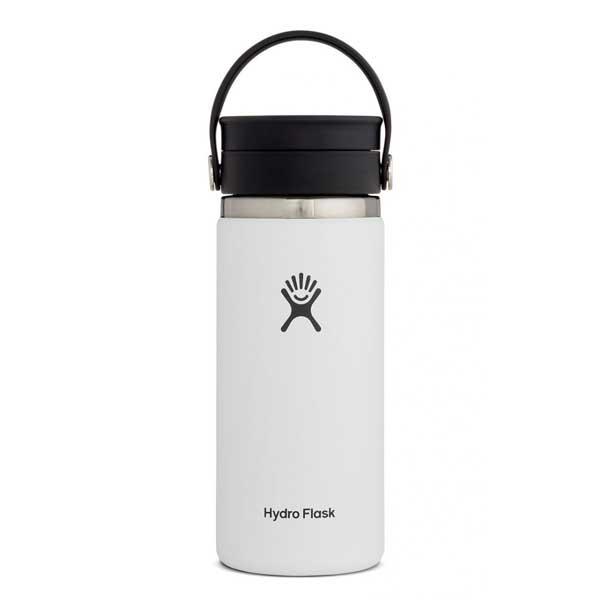 Hydro Flask Wide Flex Sip Lid Isolatie drinkbeker 473ml (16oz) - White