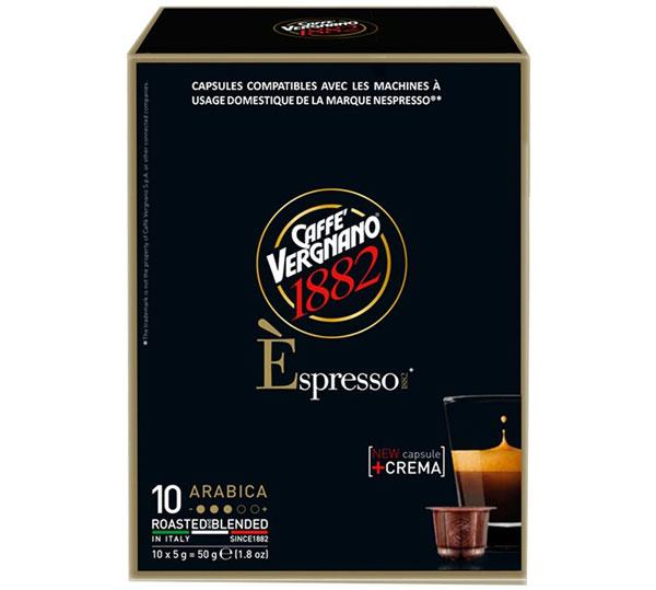 Caffe Vergnano Arabica capsules voor nespresso (10st )