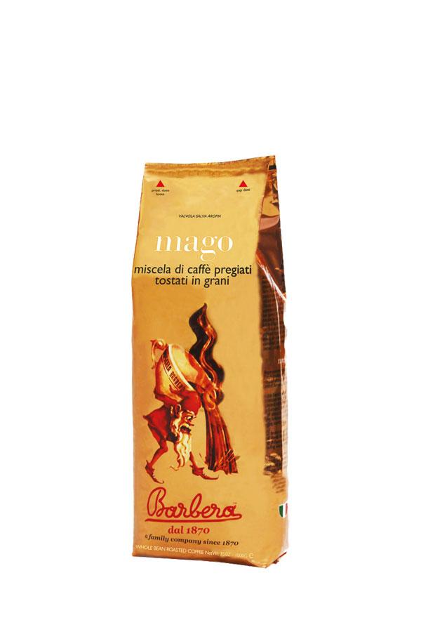 Barbera Mago koffiebonen (250g)