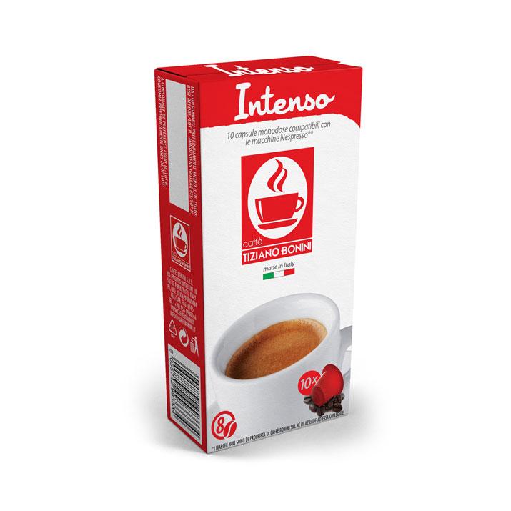 Caffè Bonini Intenso capsules voor nespresso (10st )