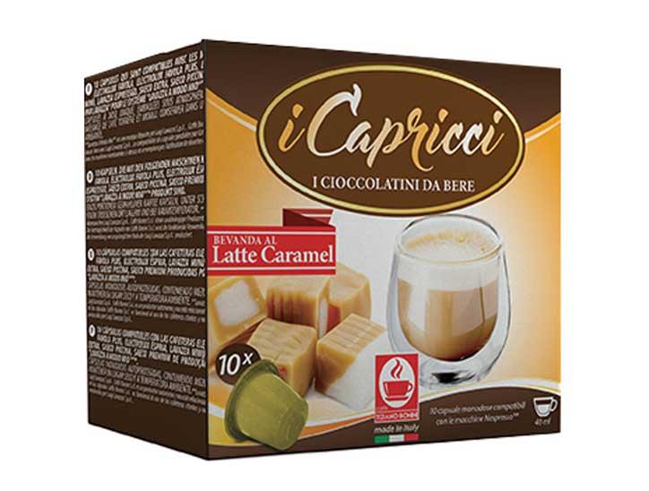 Caffè Bonini Karamel capsules voor nespresso (10st )