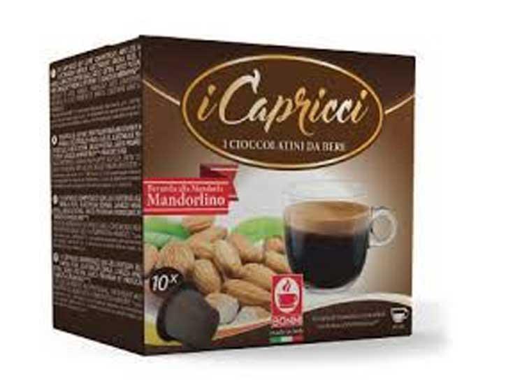 Caffè Bonini Amandel capsules voor nespresso (10st )