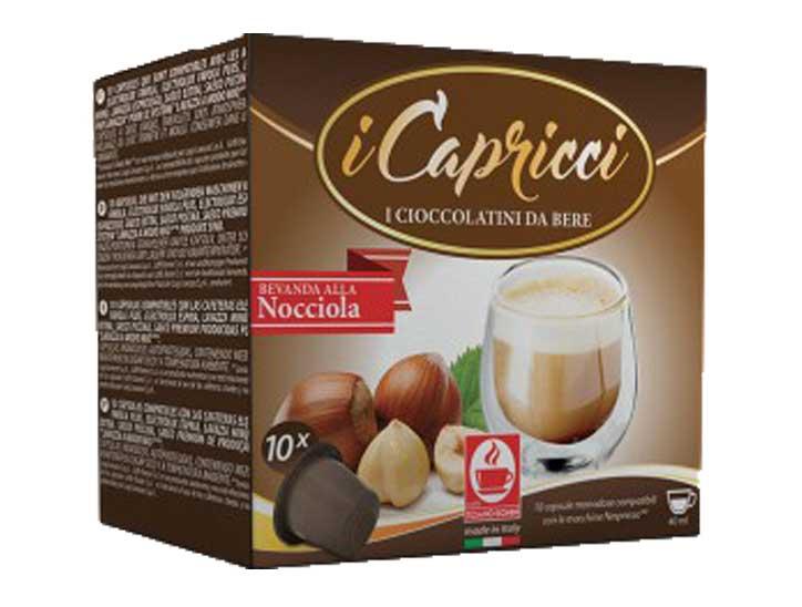 Caffè Bonini Hazelnoot capsules voor nespresso (10st )