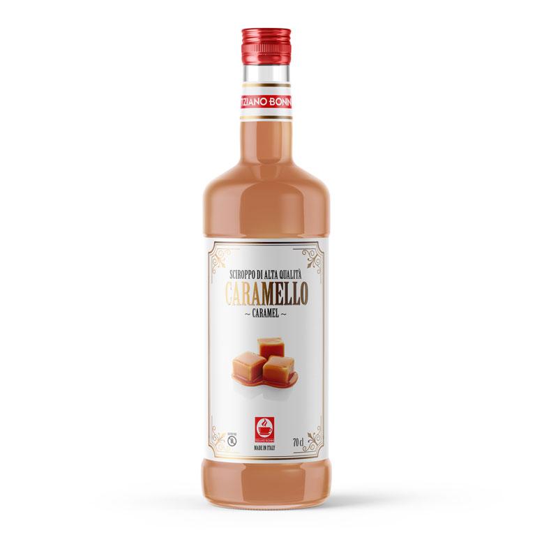 Bonini siroop Caramel 70cl