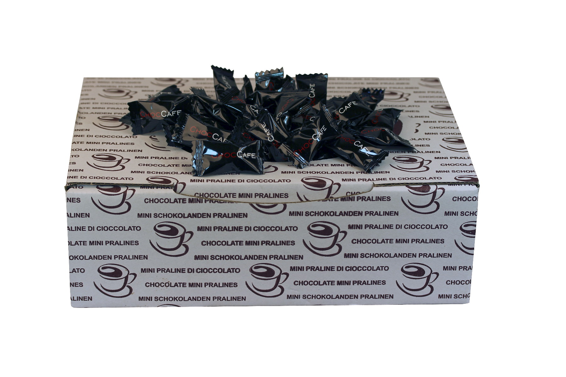 Choc Cafe koffieboon met pure chocolade omhulling (1kg)