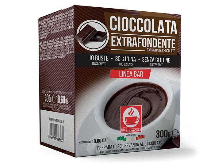 Bonini chocoladedrank extra dark ( 10 x 30gr )