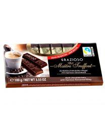 Chocolade espresso bar