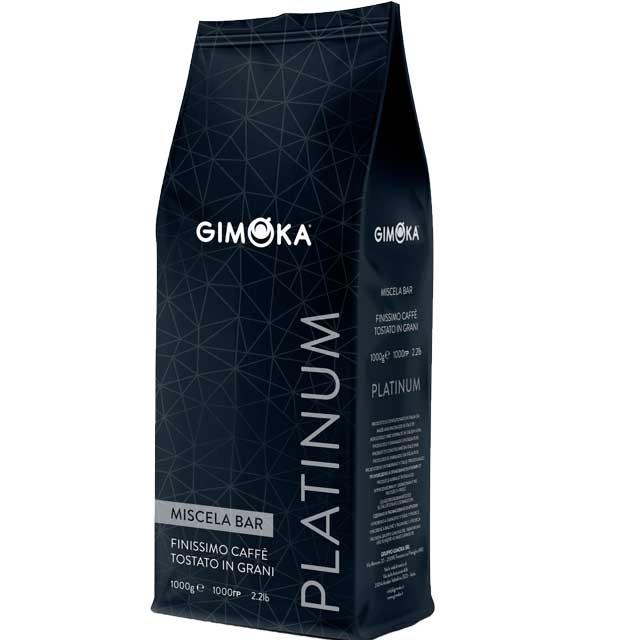 Gimoka koffiebonen Platinum (1kg)