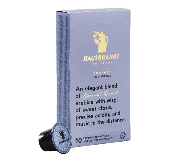 Hausbrandt Gourmet capsules voor nespresso (10st)