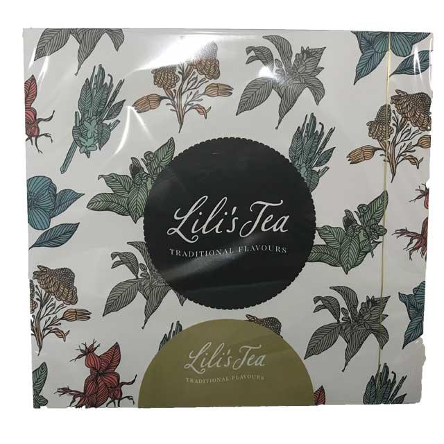 LiLi's Thee Gift box groen (4x6stuks)