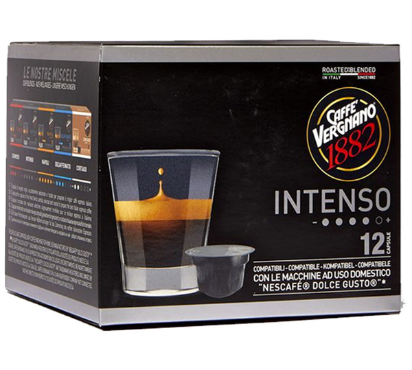 Caffe Vergnano Dolce Gusto capsules INTENSO (12st)