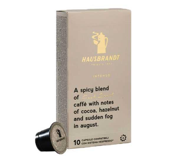 Hausbrandt Intenso capsules voor nespresso (10st)