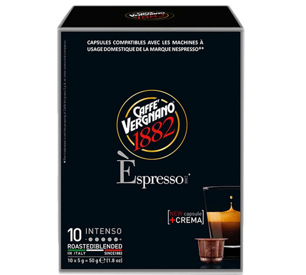 Caffe Vergnano Intenso capsules voor nespresso (10st)