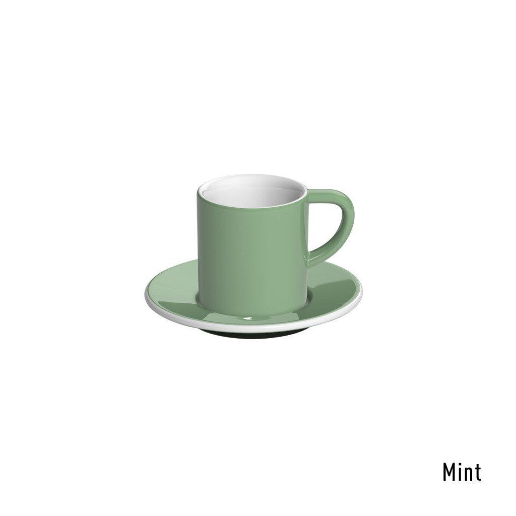 Loveramics bond espresso tas en ondertas (80ml) munt