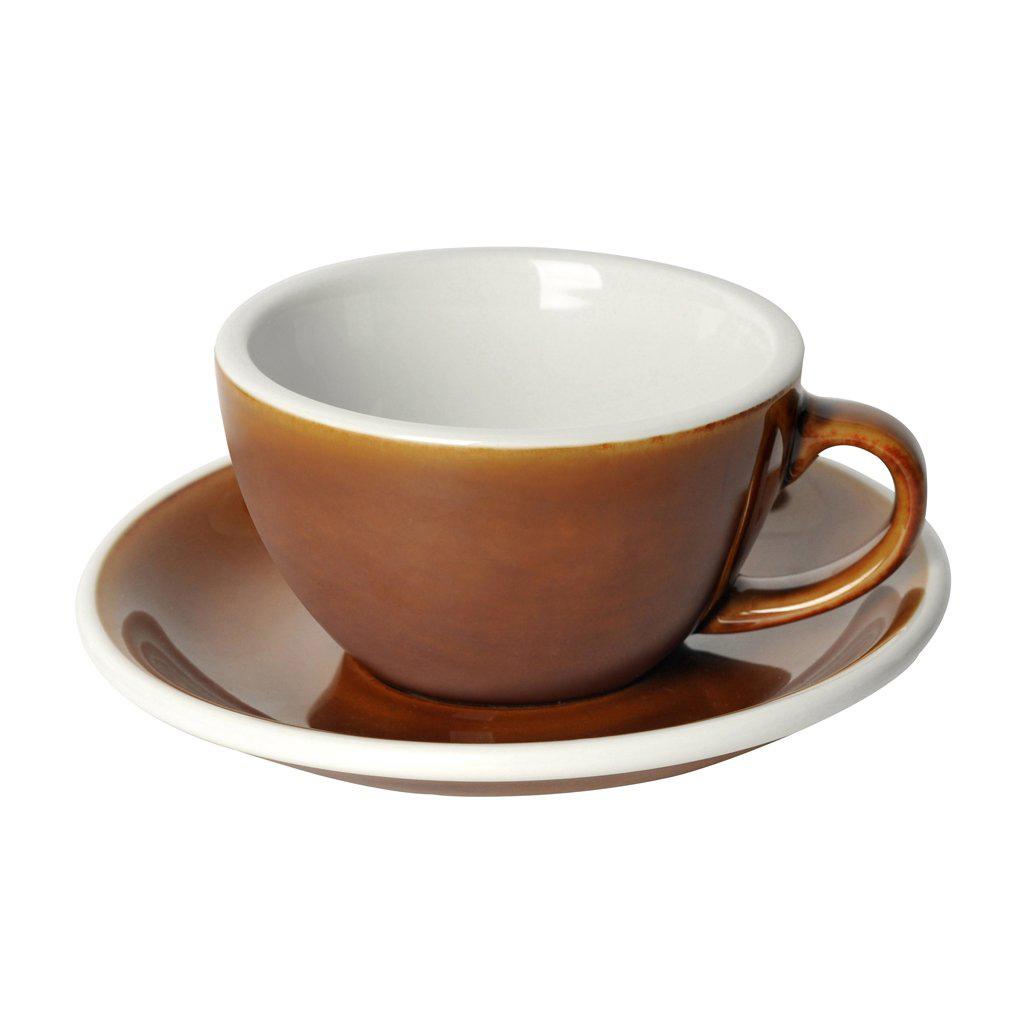 Loveramics egg cappuccino tas en ondertas (200ml) caramel