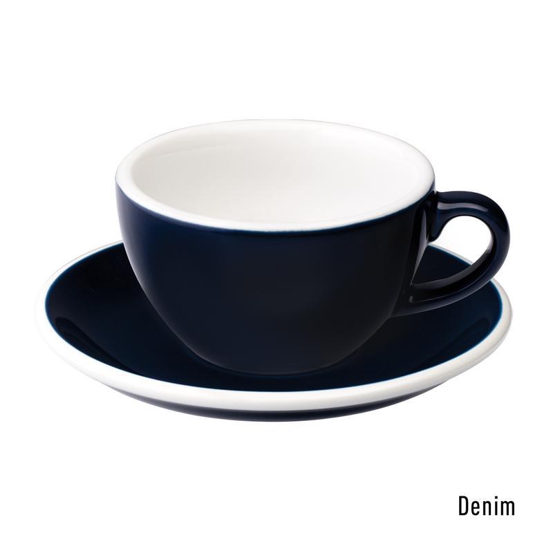 Loveramics egg cappuccino tas en ondertas (200ml) denim
