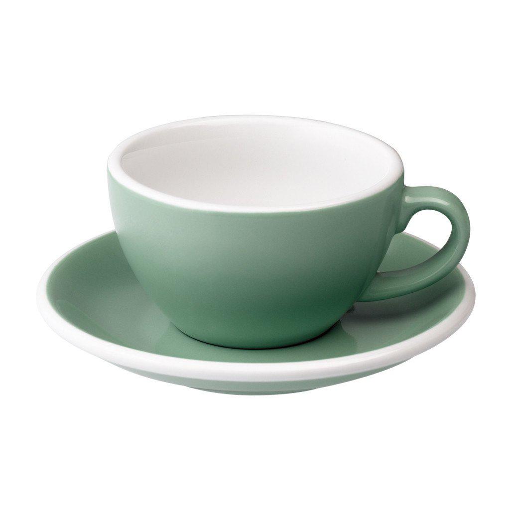Loveramics egg cappuccino tas en ondertas (200ml) mint