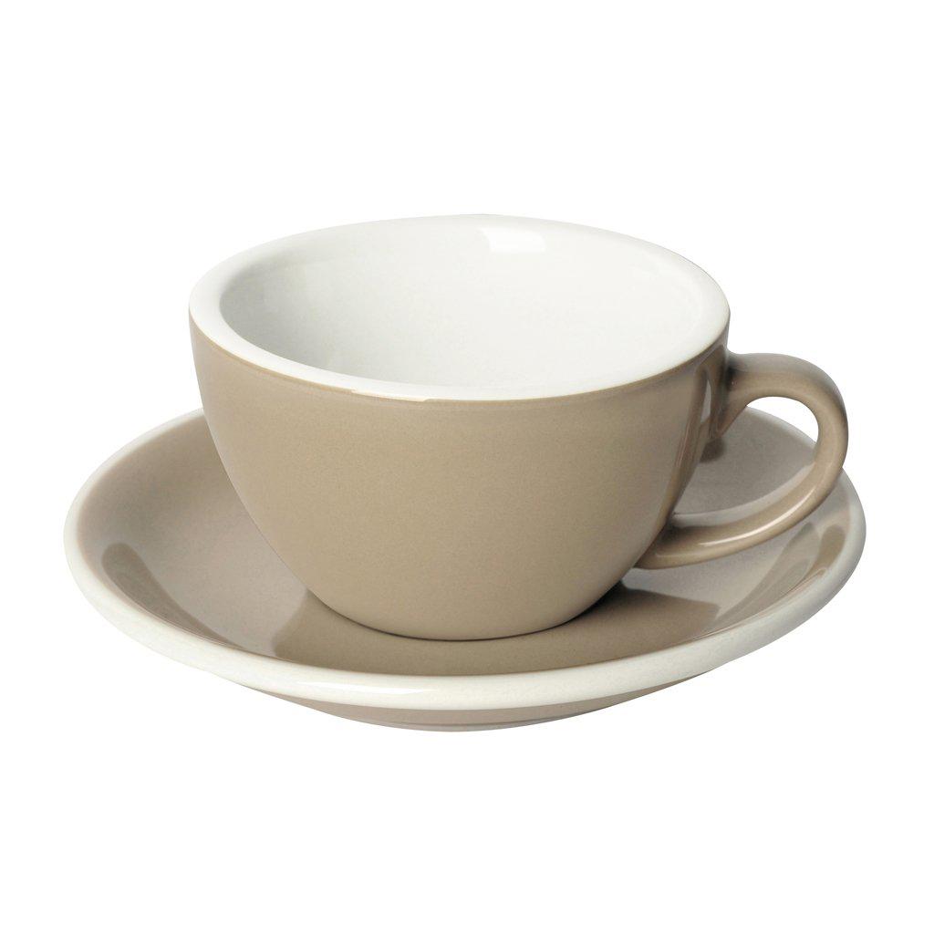 Loveramics egg cappuccino tas en ondertas (200ml) taupe