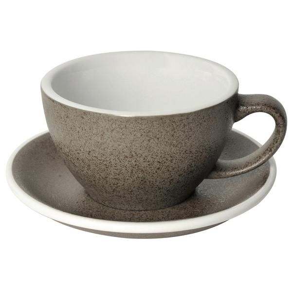 Loveramics egg café latte tas en ondertas (300ml) graniet