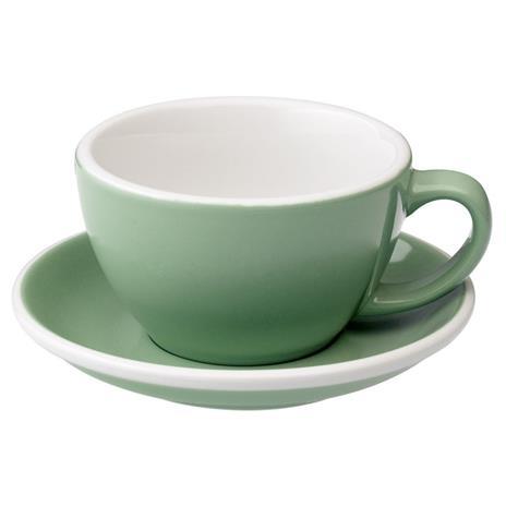 Loveramics egg café latte tas en ondertas (300ml) Munt