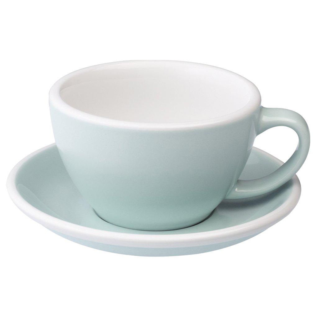Loveramics egg café latte tas ZONDER ondertas (300ml) river blue