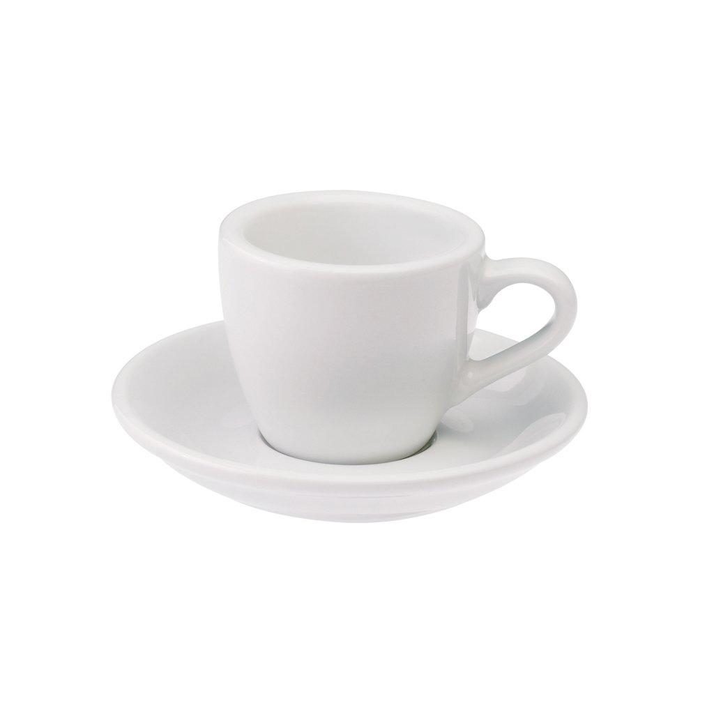 Loveramics egg espresso tas en ondertas (80ml) wit