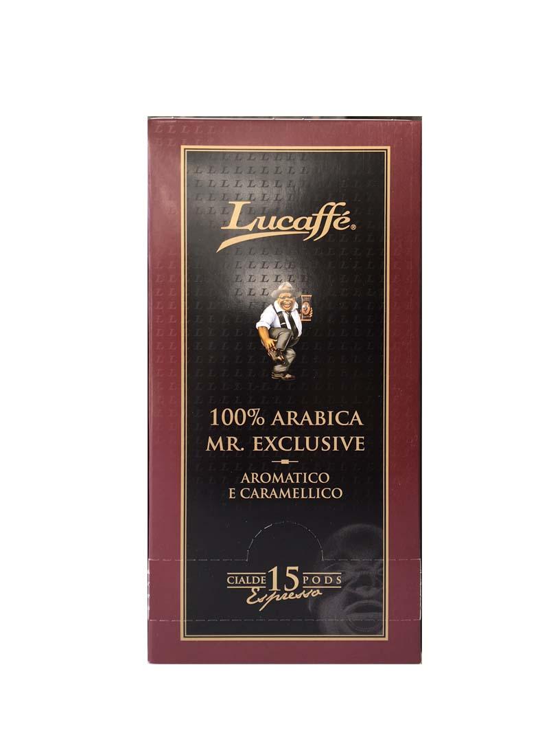 Lucaffe ESE servings Mr Exclusive (15 stuks)