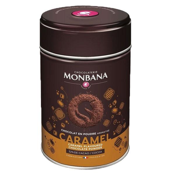 Monbana chocoladedrank caramel (250gr)
