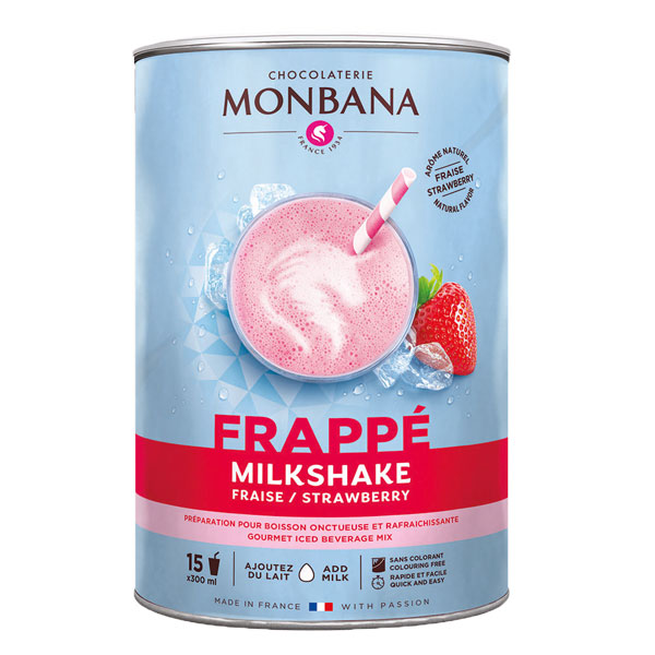Monbana strawberry milkshake (1kg)