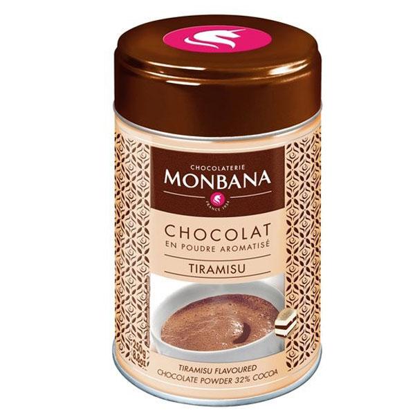 Monbana chocoladedrank tiramisu (250gr)