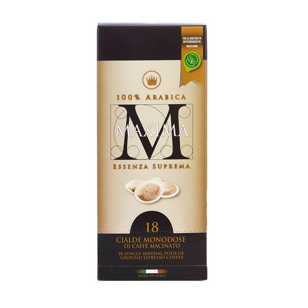 Morandini Maxima ESE koffie servings 100% arabica (18stuks)