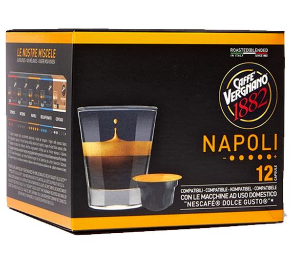 Caffe Vergnano Dolce Gusto capsules NAPOLI (12st)