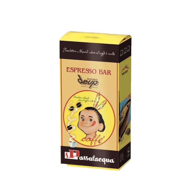 Passalacqua DEUP (deca) koffiebonen 500gr