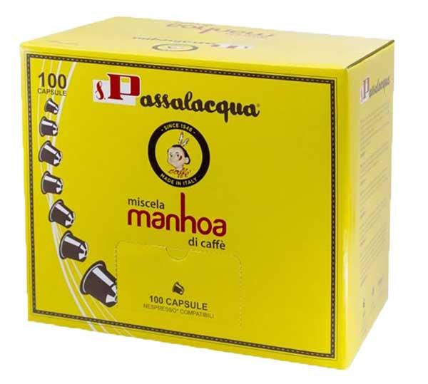Passalacqua Manhoa capsules voor nespresso (100st)