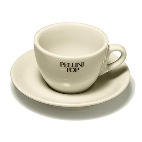 Pellini cappuccino tas en ondertas