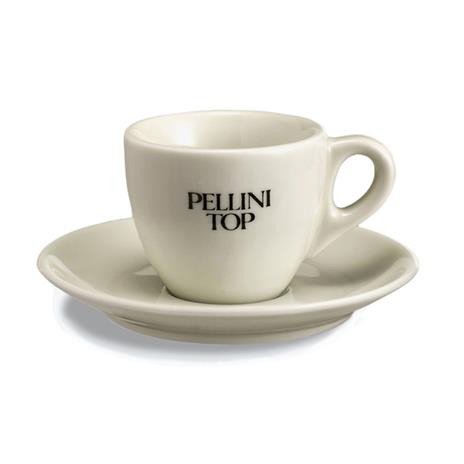 Pellini espresso tas en ondertas