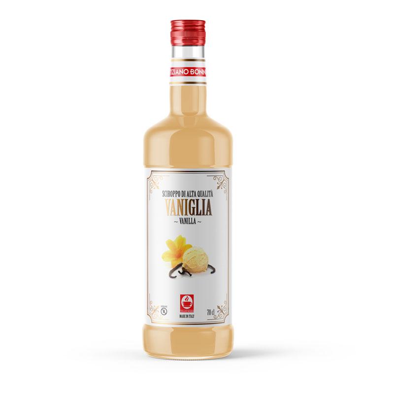Bonini siroop Vanilla 70cl
